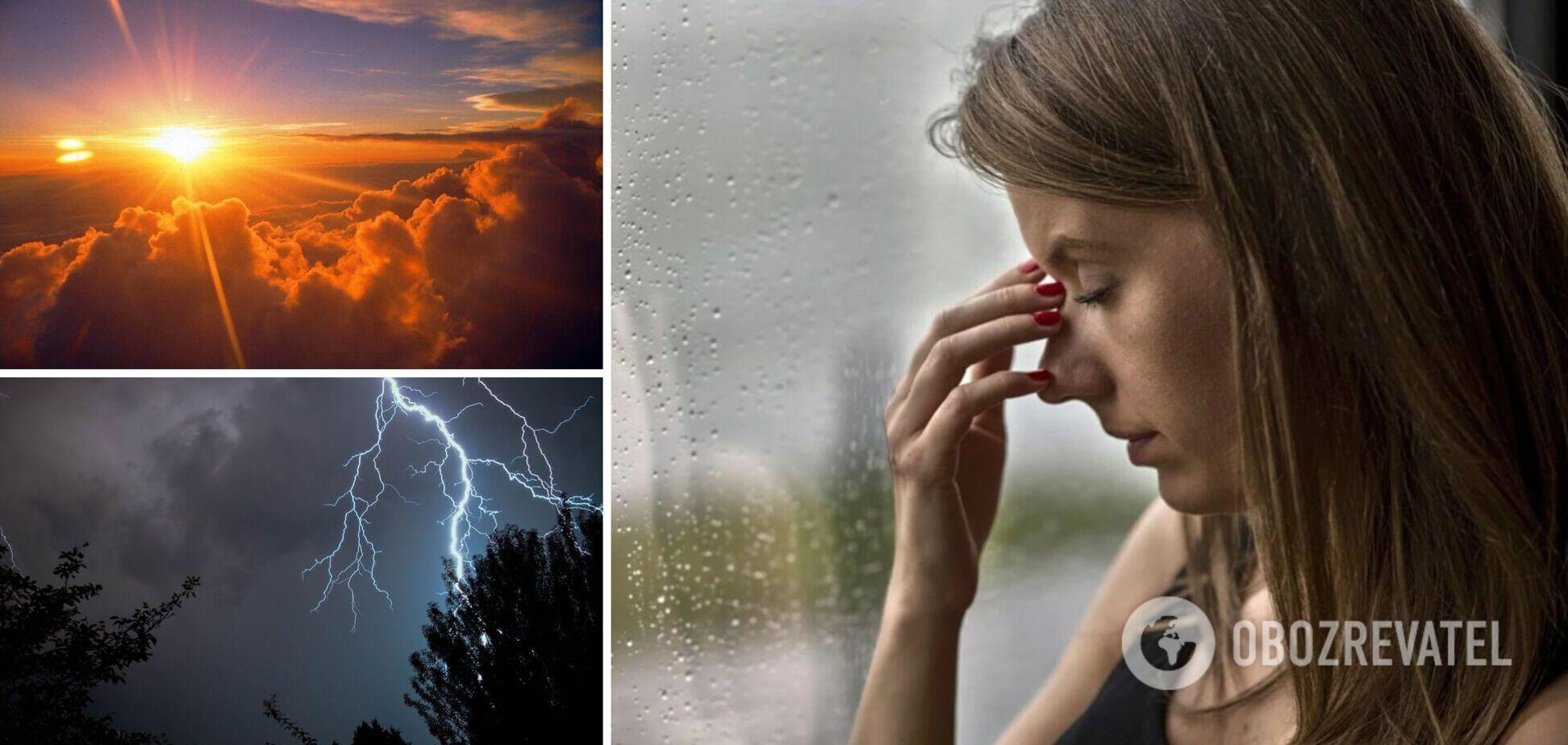 В Украине растет количество метеозависимых: синоптик рассказала, как пережить перепады погоды
