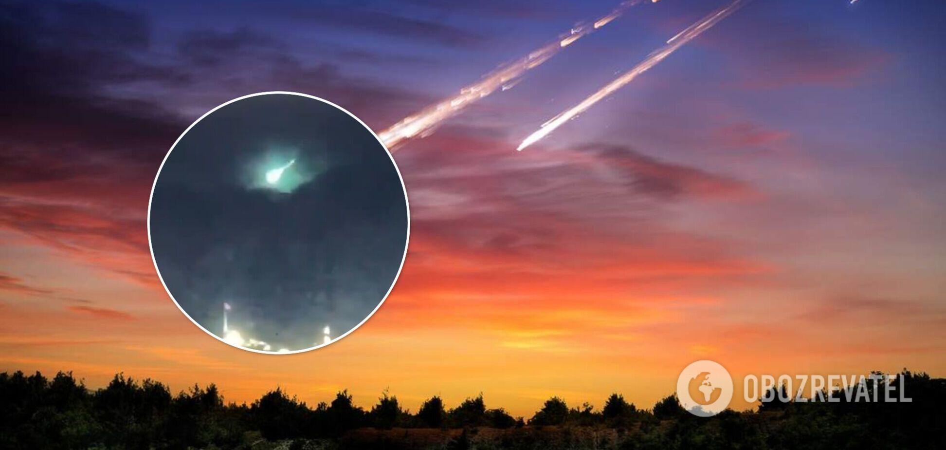 У небі над Туреччиною зафіксували яскравий спалах: місцеві кажуть про метеорит. Відео