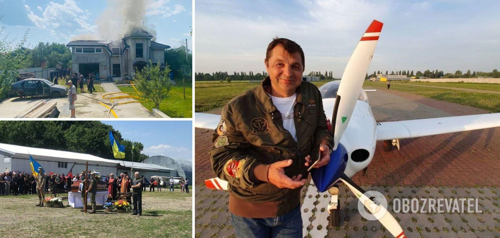 Родичі пілота Табанюка назвали авіакатастрофу в Коломиї замовним убивством
