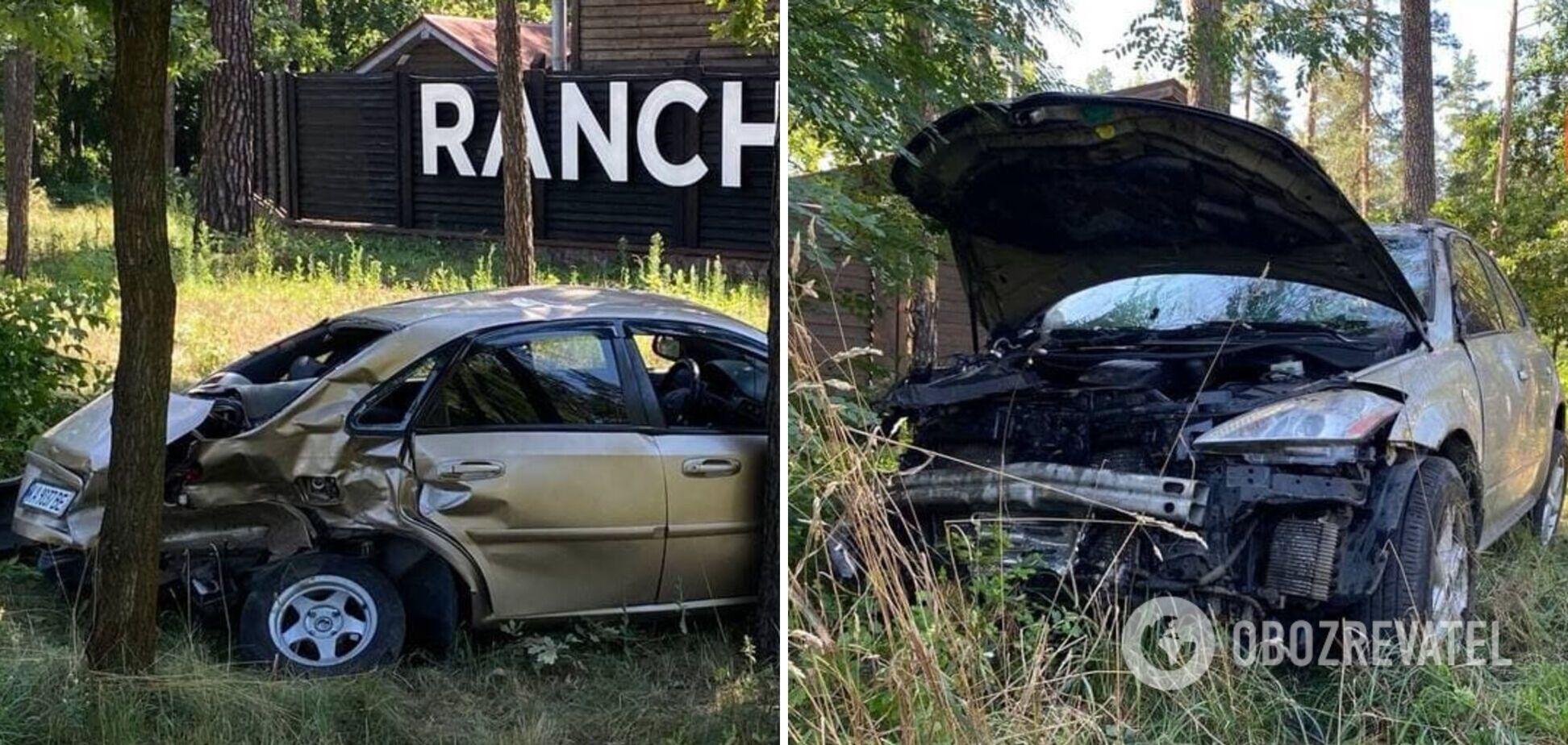 В Киеве столкнулись два авто