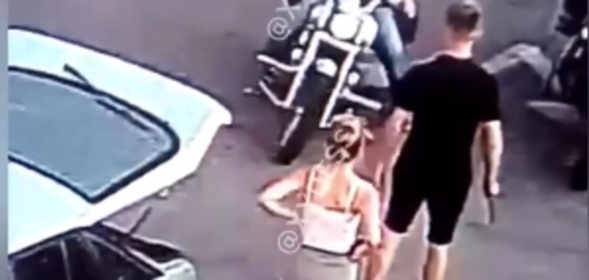 У Черкасах молоду пару побила група байкерів з Одеси
