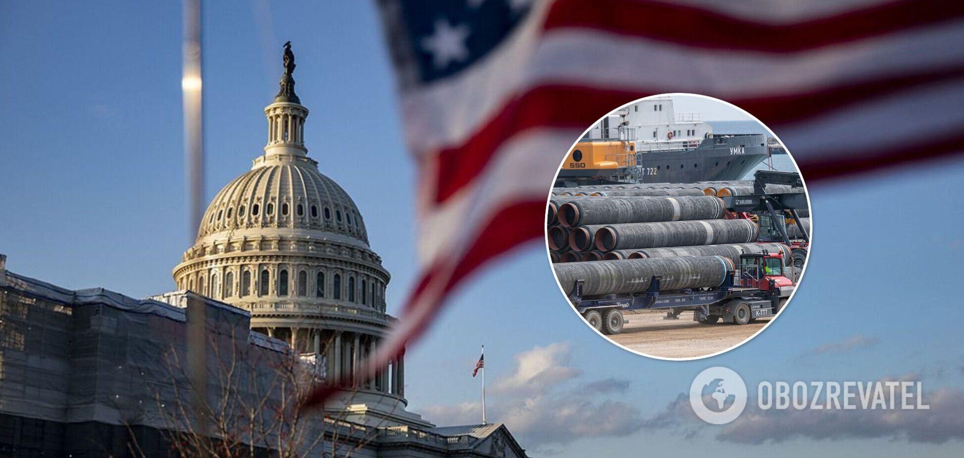 В Конгрессе США приняли контрмеры для Байдена по 'Северному потоку-2'