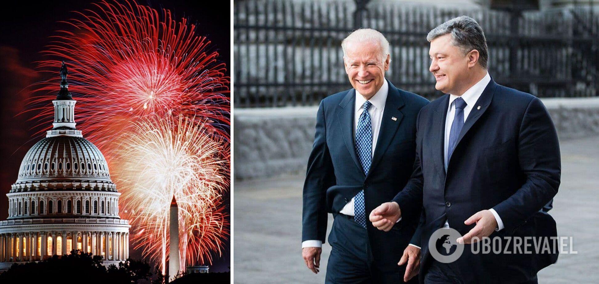 Порошенко о дне независимости США: нам удалось вывести отношения Киева и Вашингтона на рекордный уровень