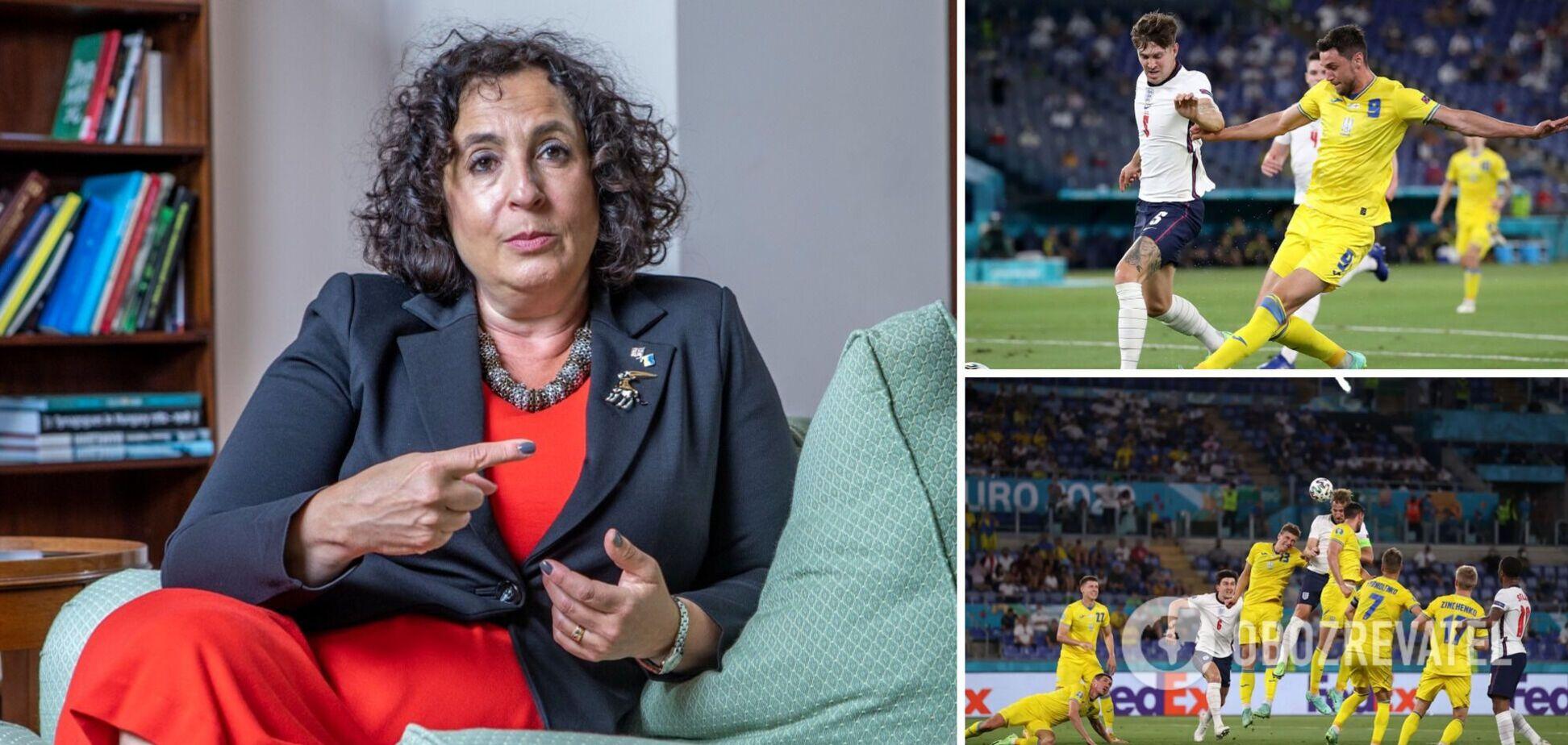 Пані посол Великобританії про матч Україна – Англія: пишаюся обома командами