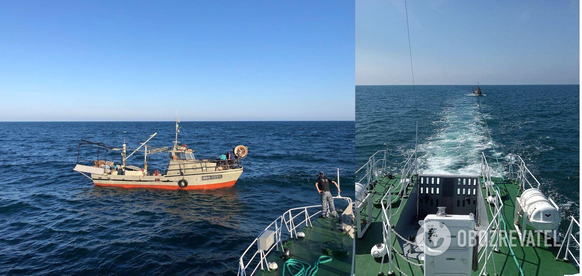 Появились фото спасенных украинских рыбаков в Черном море и правда о 'помощи' Москвы