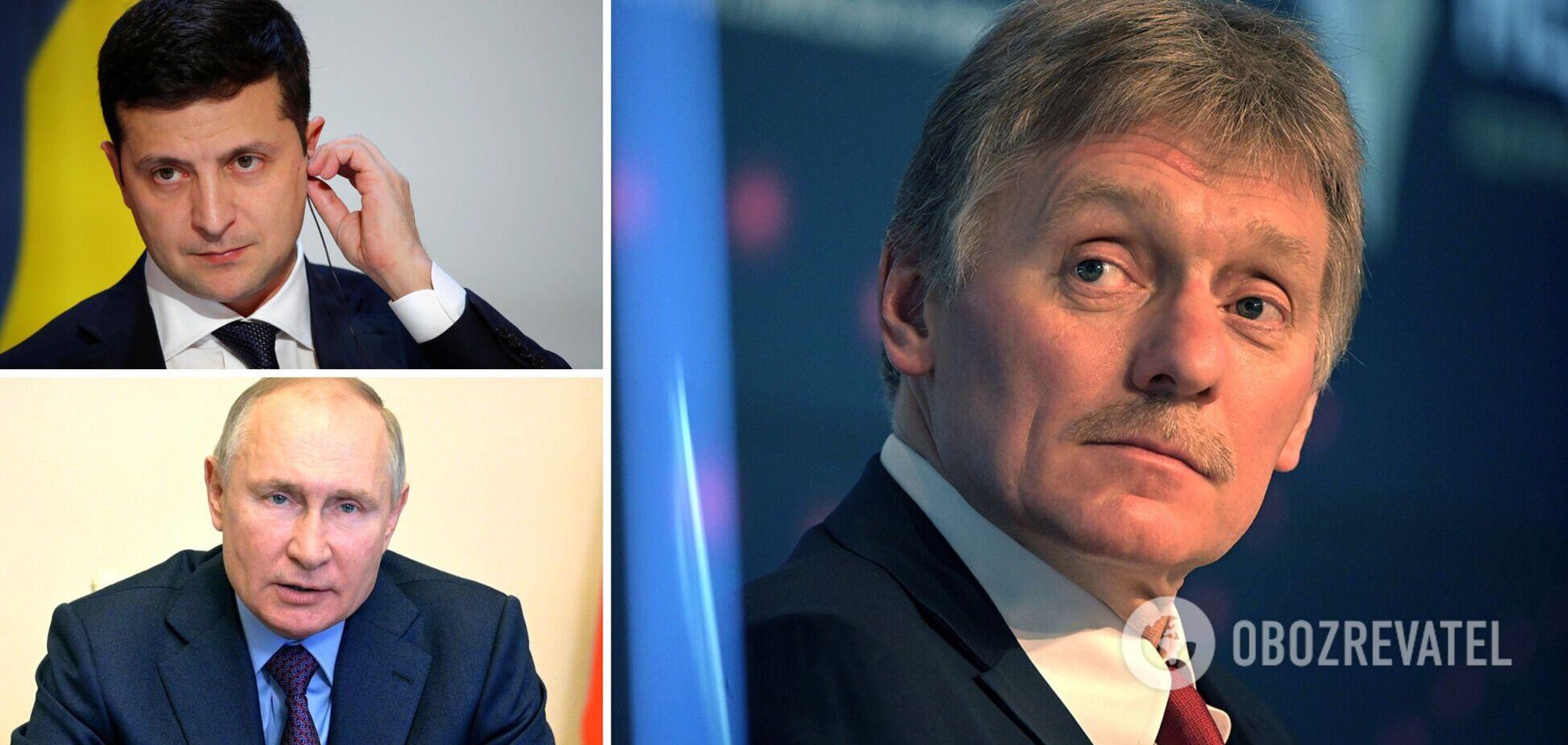 В Москве объяснили, что мешает встрече Зеленского и Путина