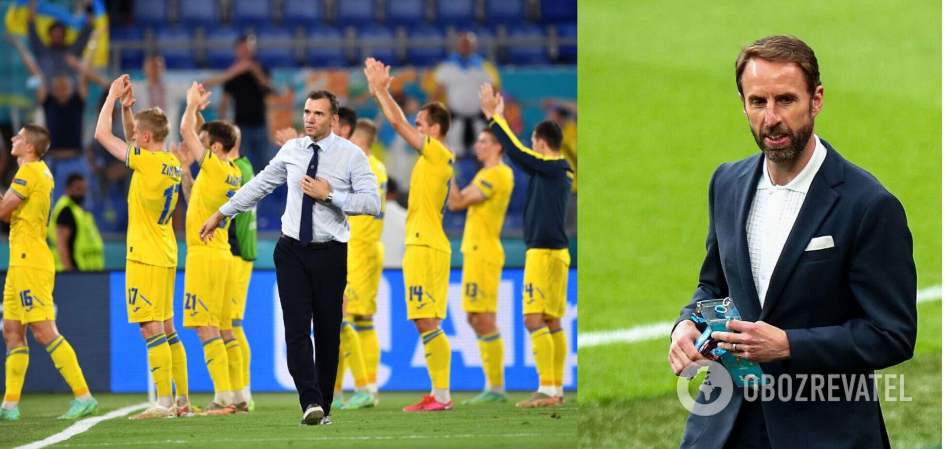 Головний тренер збірної Англії зневажливо висловився про Україну