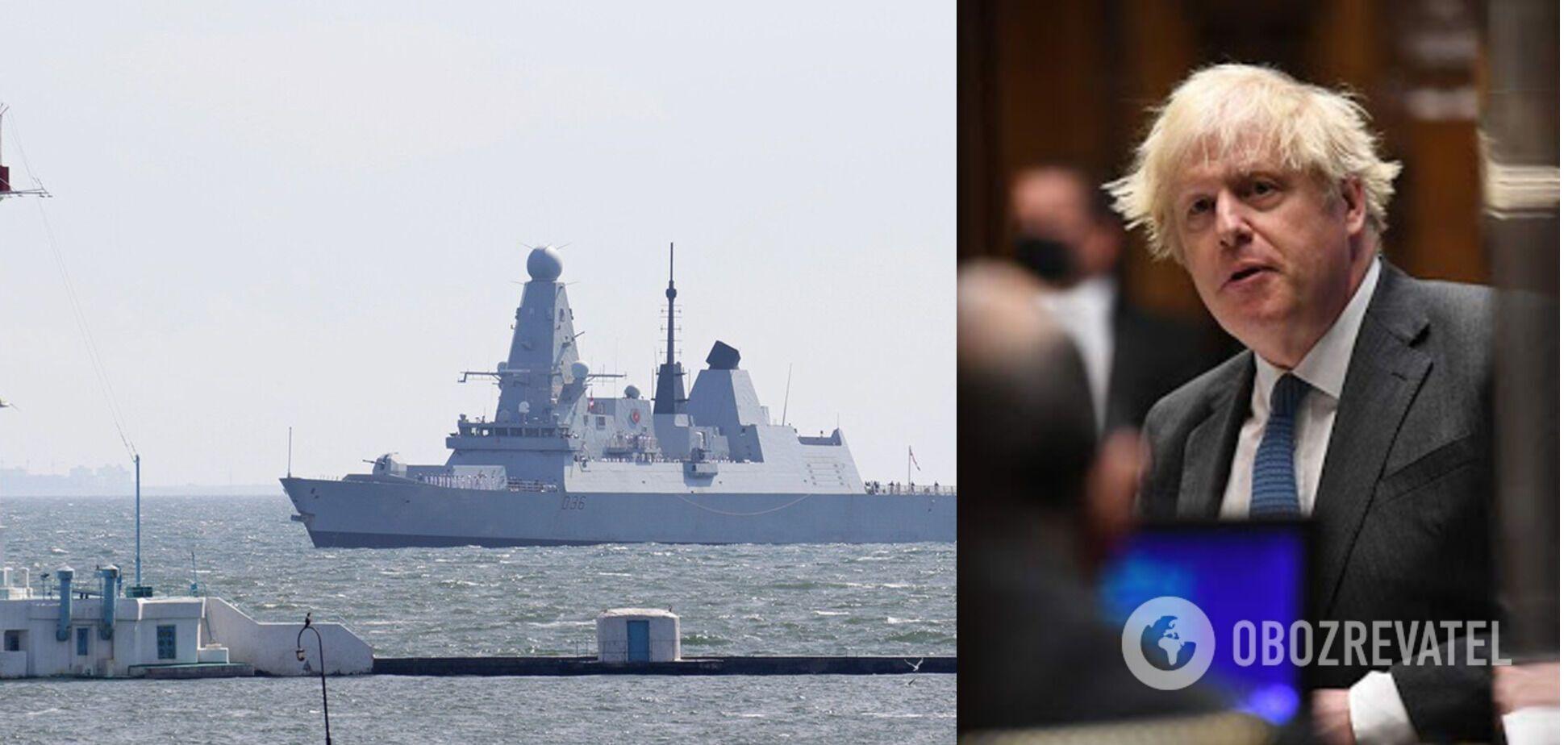 История с HMS Defender: Лондон со всей убедительностью показал, чей Крым