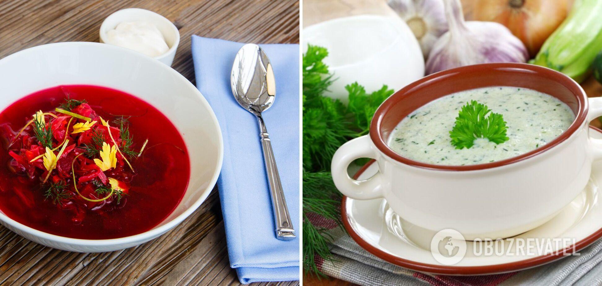Літні супи: зберігаємо форму легко і зі смаком