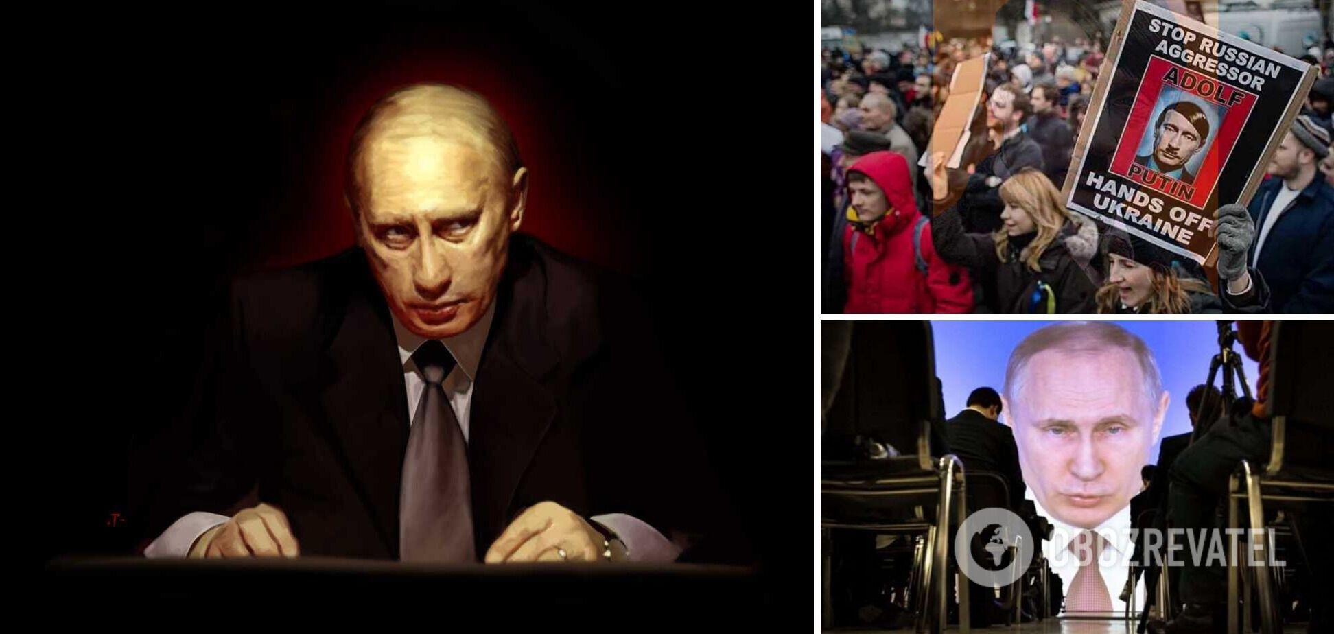 Путин проболтался о планах захвата Украины