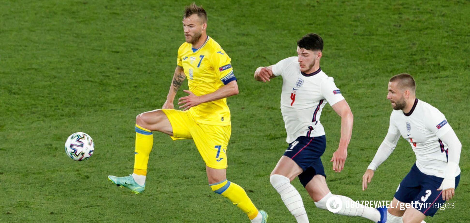 Ярмоленко не считает трагедией разгромное поражение от Англии