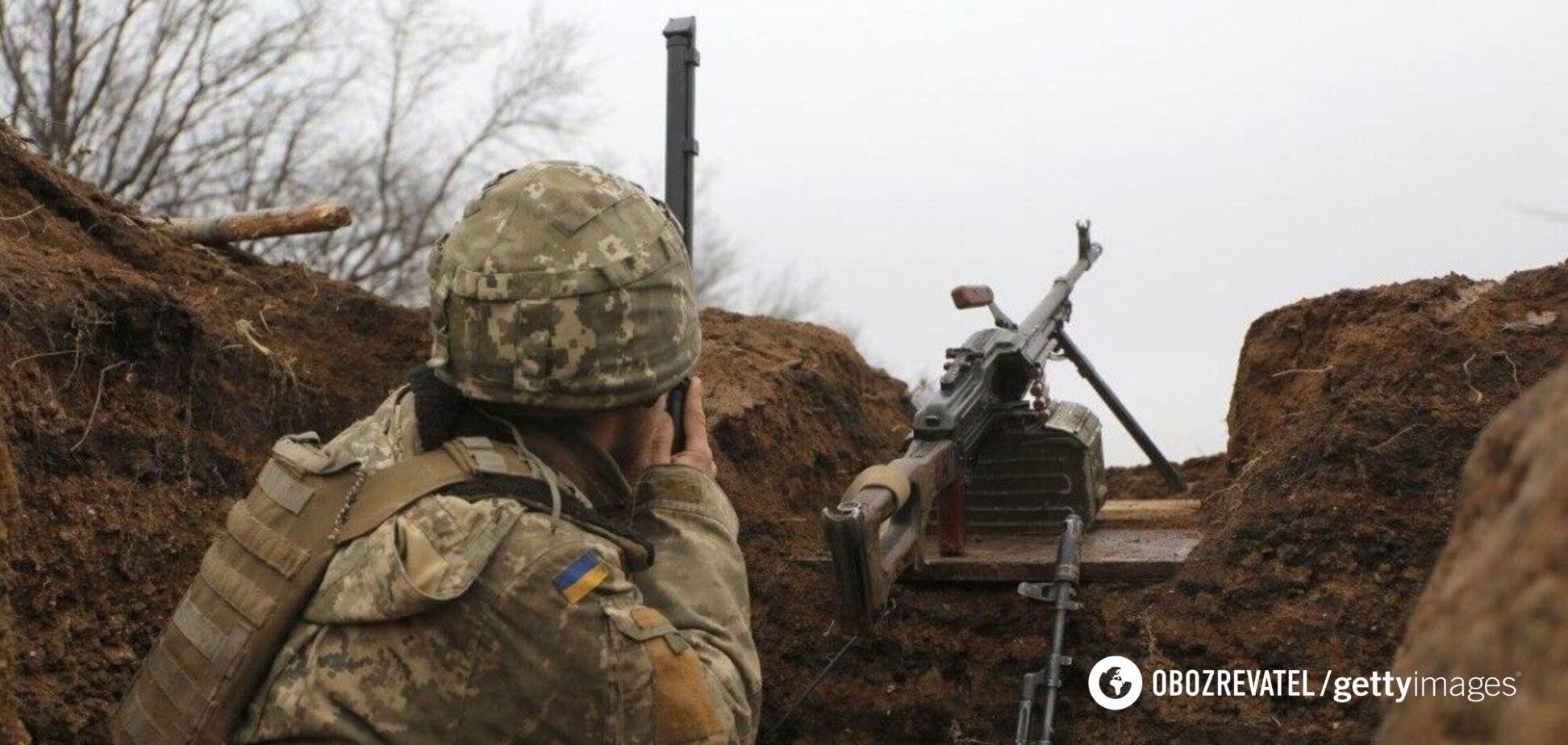 На Донбассе наемники РФ открывали огонь по ВСУ из минометов и гранатометов – штаб ООС