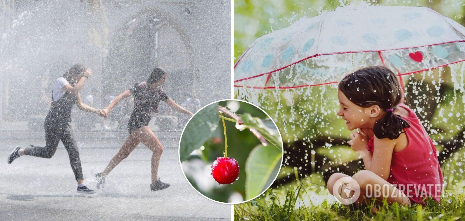 Погода в Украине 6 июля принесет грозовые дожди, синоптики предупредили о шквалах и граде