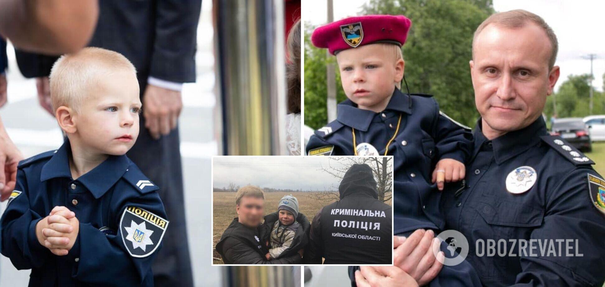 Спасенный полицейскими 2-летний мальчик поздравил копов с их профессиональным праздником