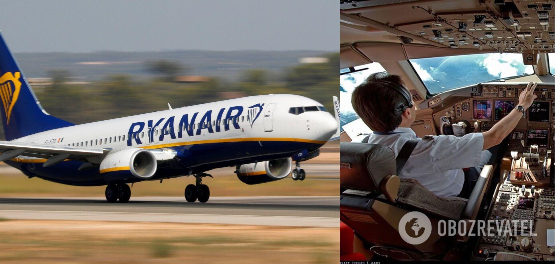 Пилот Ryanair рейса Познань – Одесса отказался впускать на борт украинцев: кричал, что он 'король самолета'