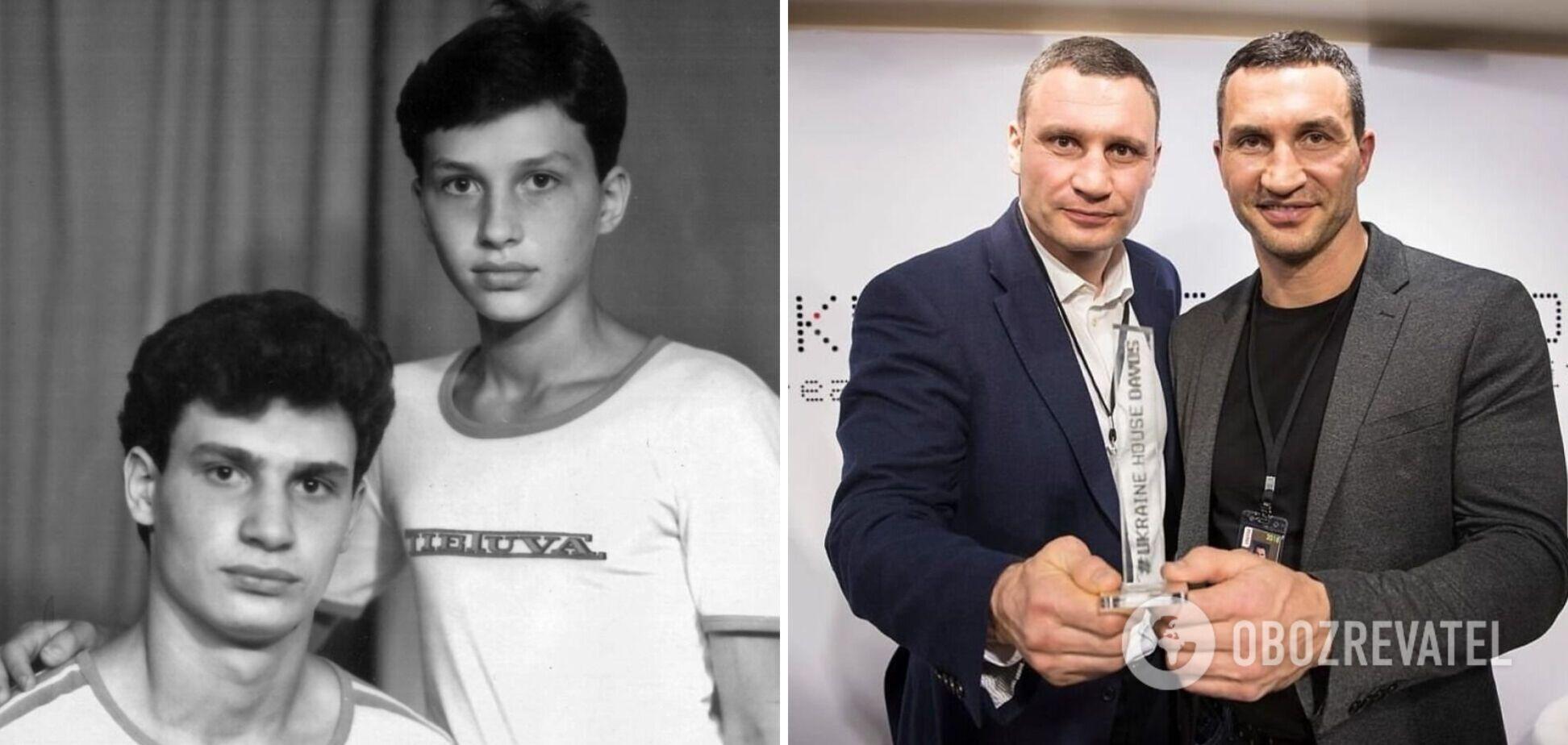 Як змінювалися брати Клички: фото зірок протягом кар'єри
