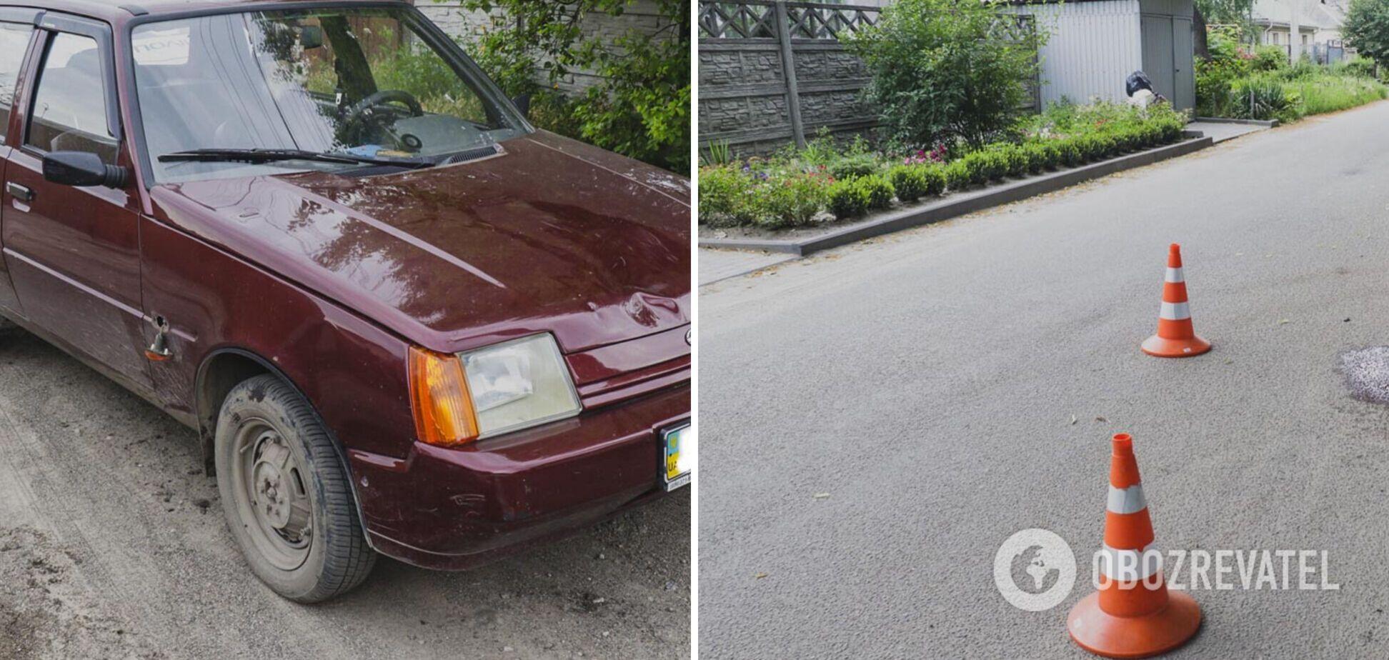 В Днепре водитель авто трижды переехал женщину и скрылся с места аварии. Фото