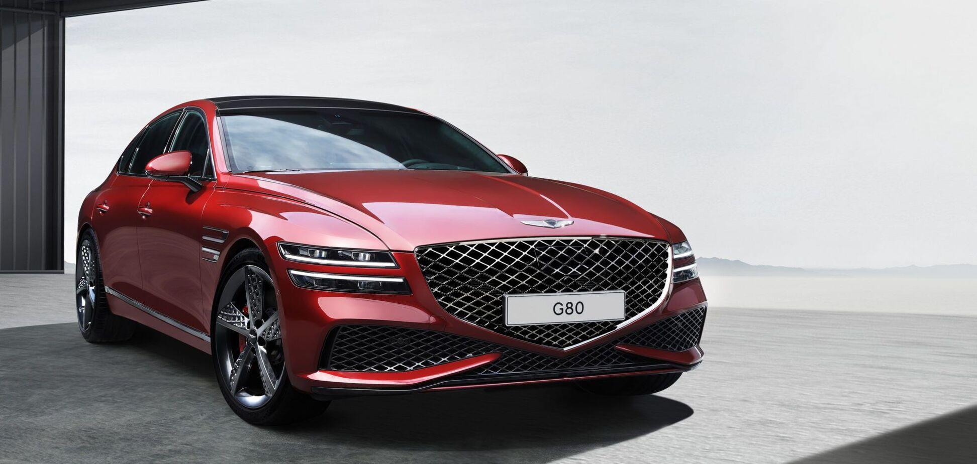 Genesis показав спортивну версію седана G80