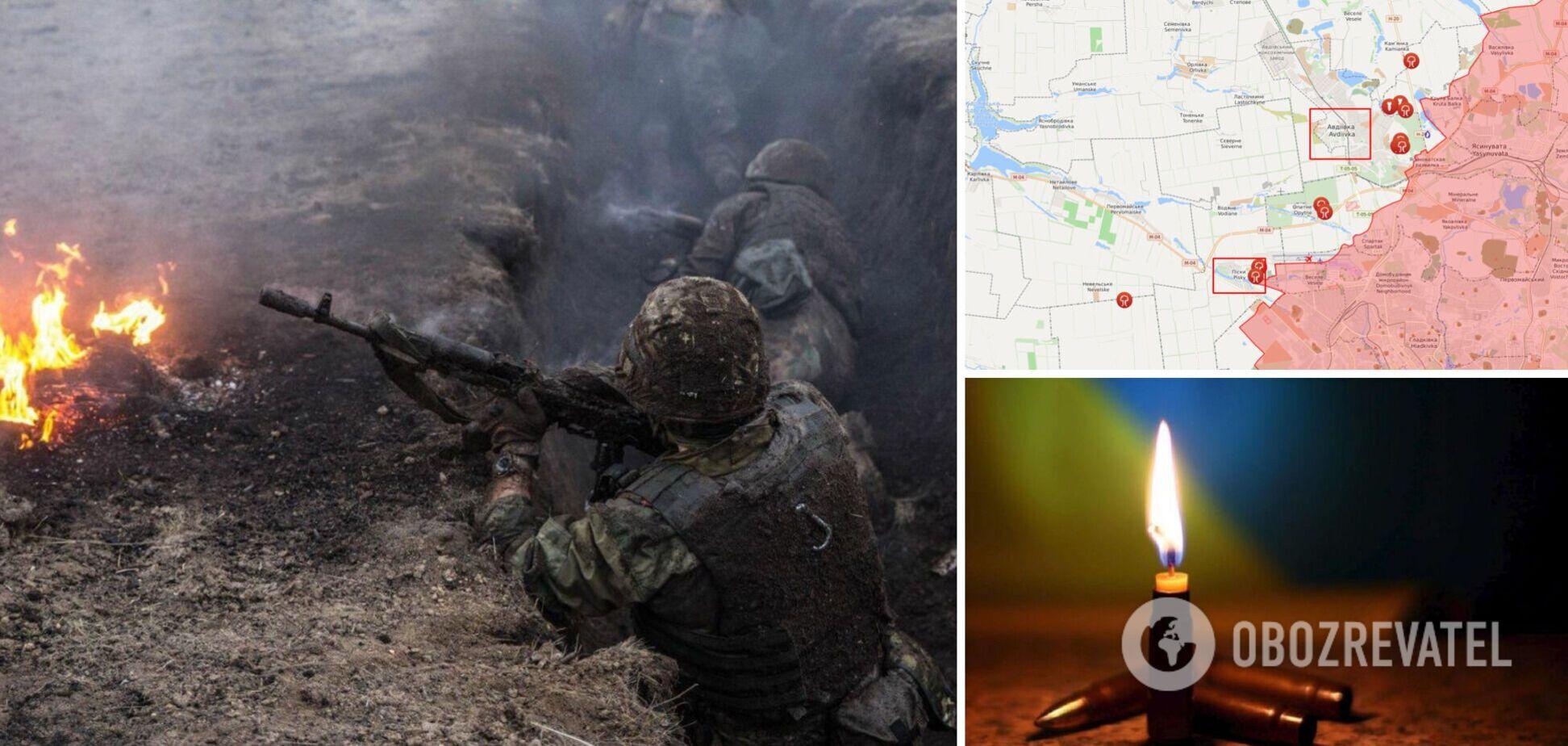 На Донбассе из-за обстрелов российских оккупантов погиб один военный и трое ранены