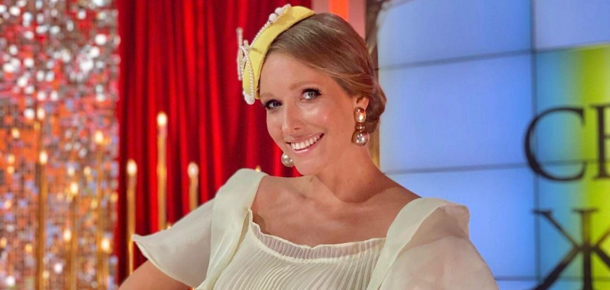 Беременная Осадчая вышла на публику в платье-оверсайз за 18 тысяч гривен. Фото
