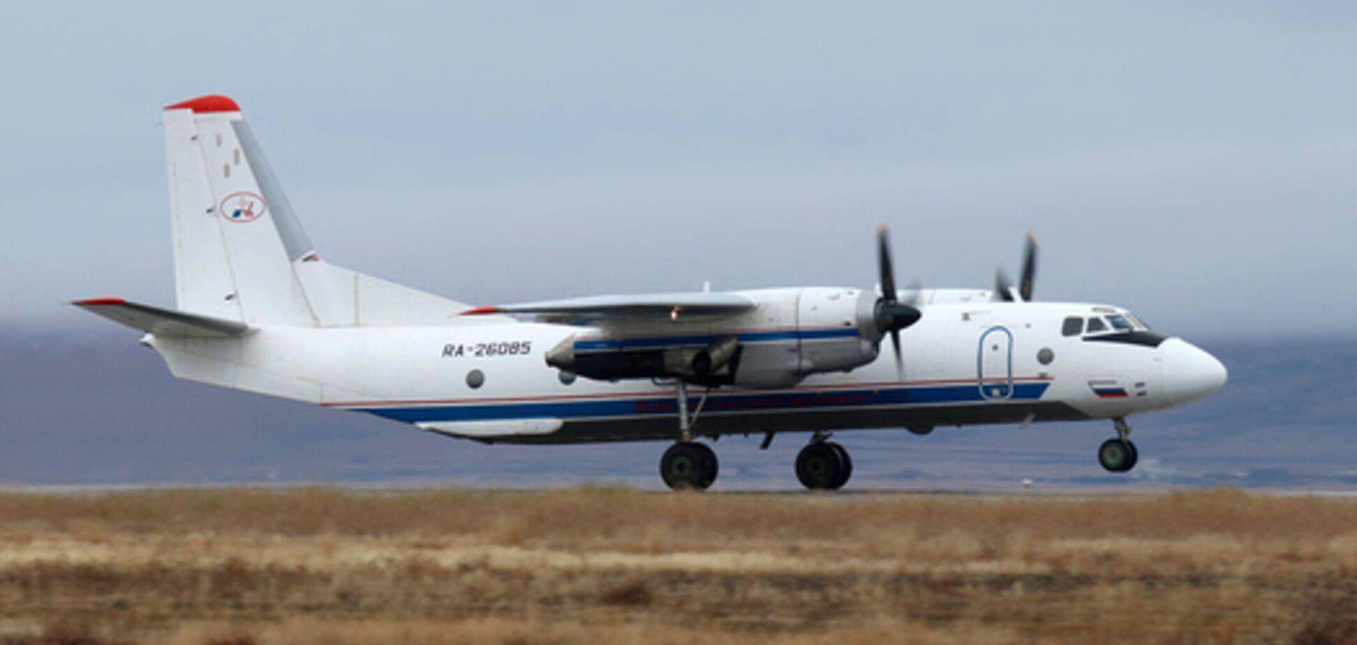 У Росії впав літак Ан-26