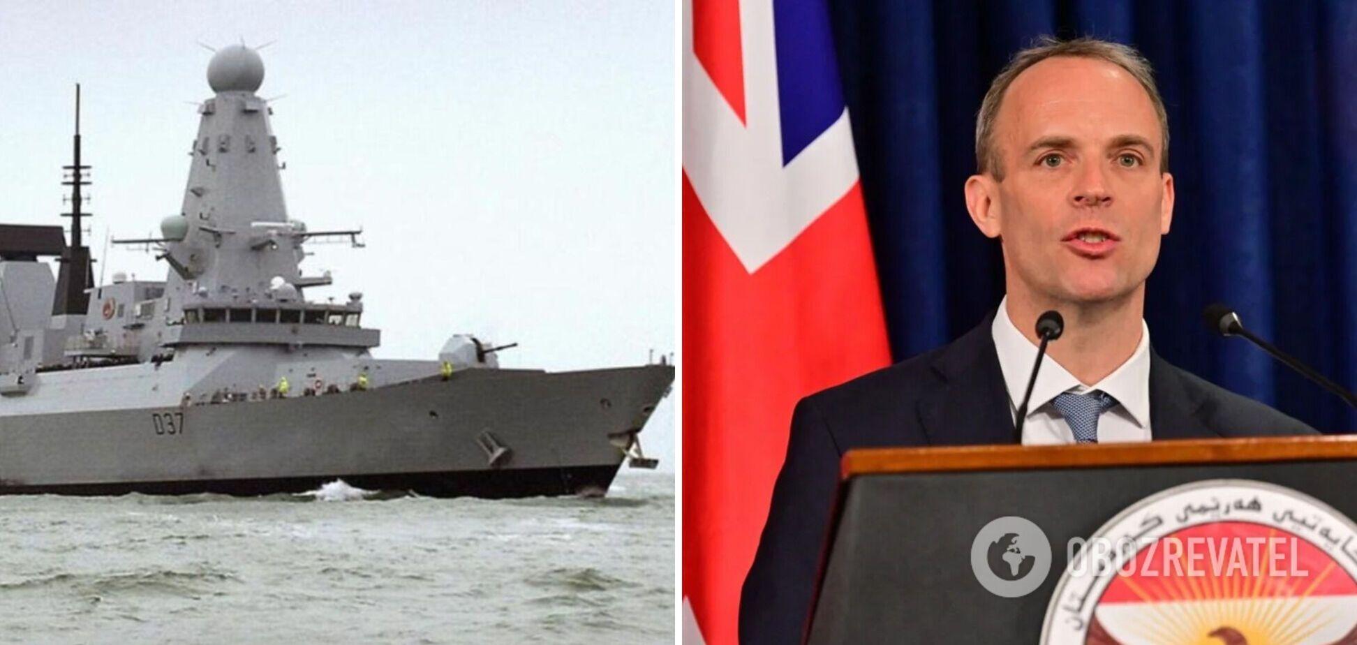 Британське МЗС — про рейси у Чорному морі: кораблі продовжать проходи українськими водами