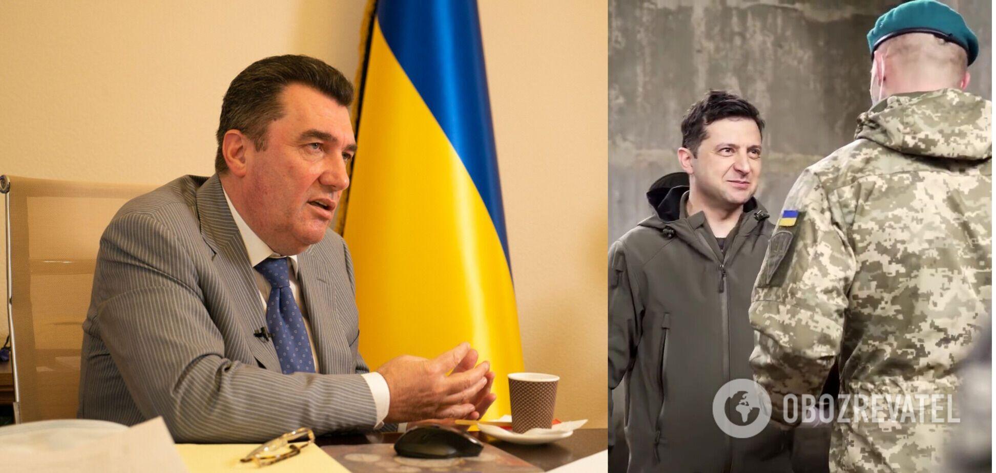 Данилов высказался о поездках Зеленского на Донбасс