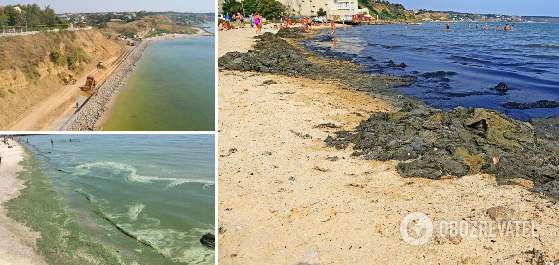 В Одесі і Крижанівці туристи побоюються купатися на деяких пляжах
