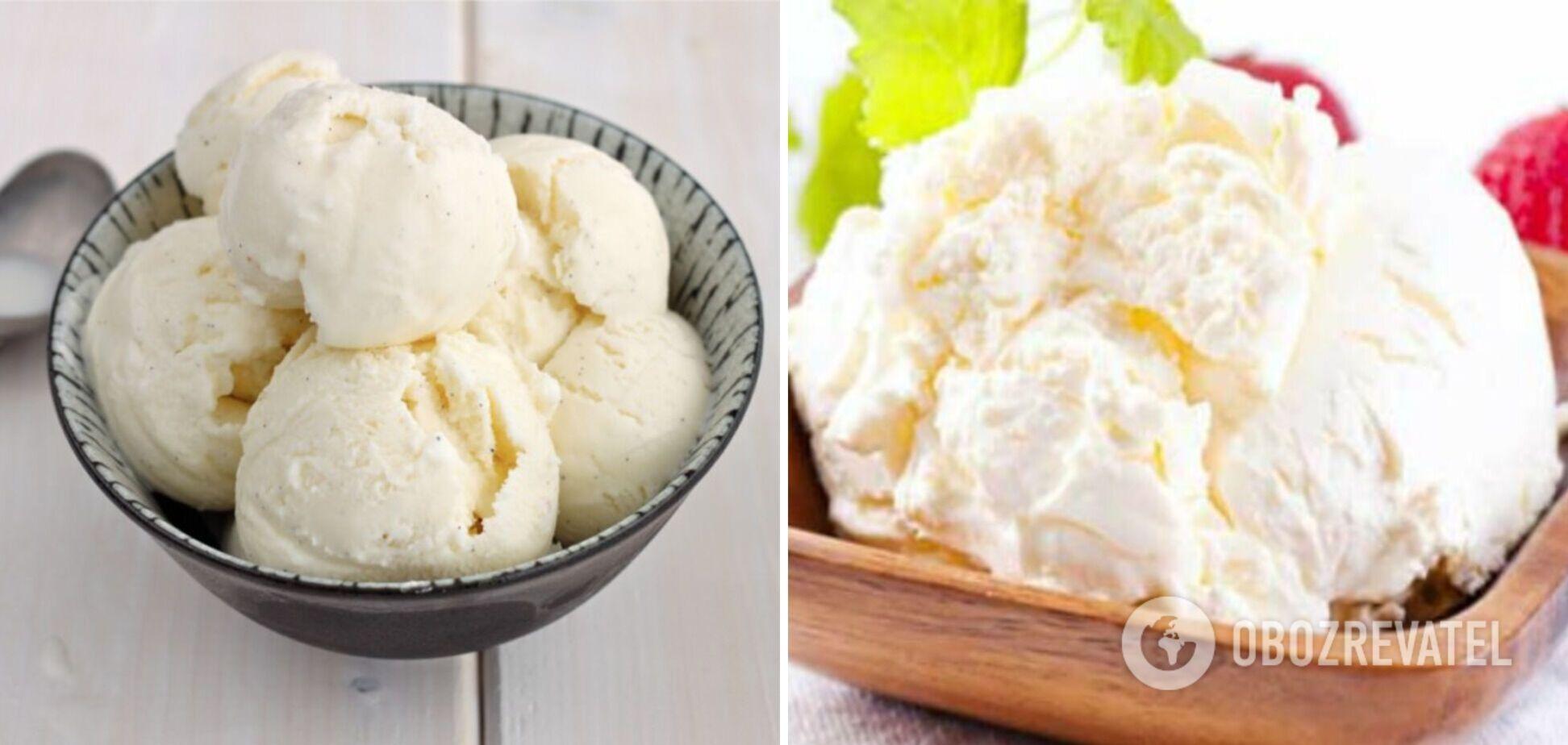 Сырно-белковое мороженое: рецепт