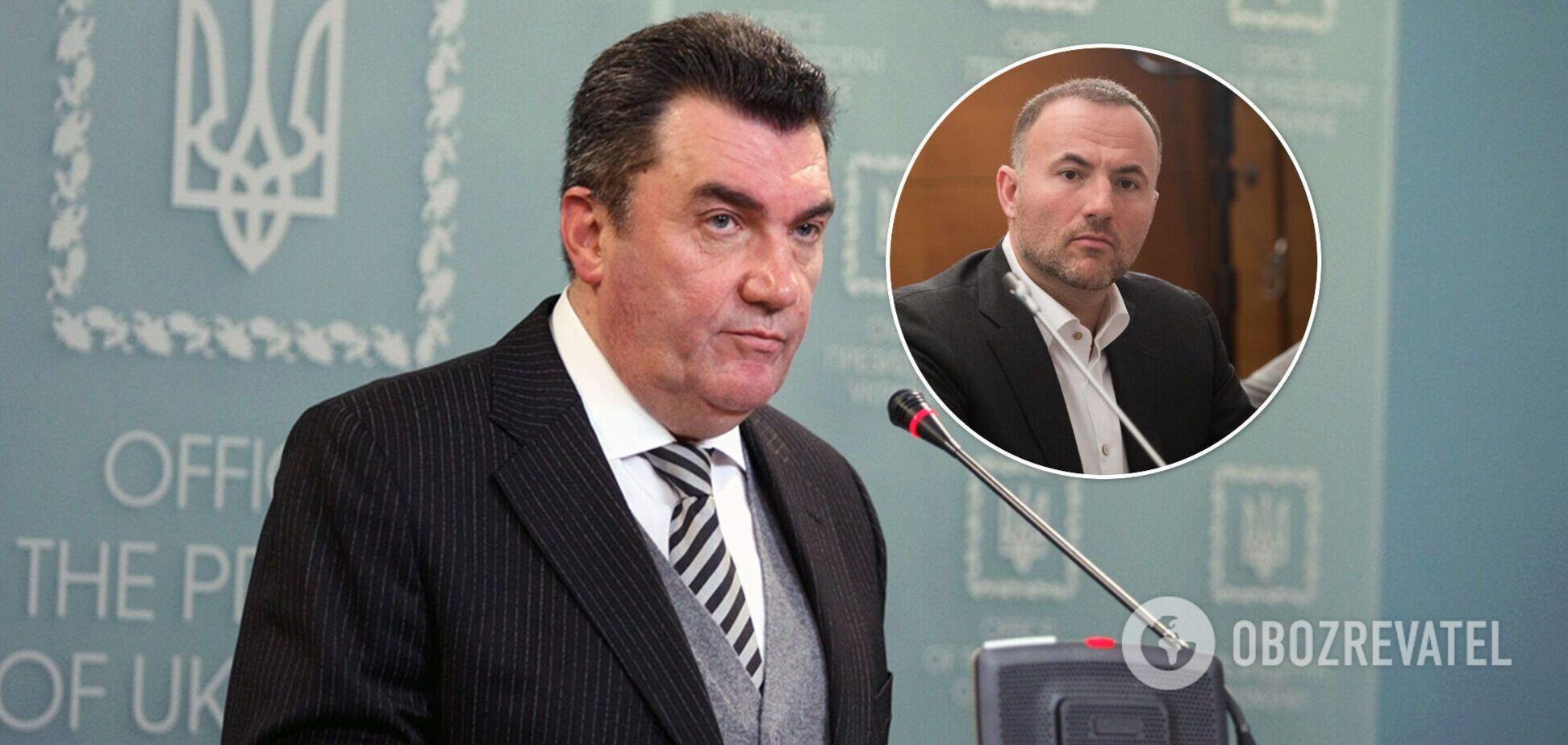 Данилов рассказал о санкциях против Фукса