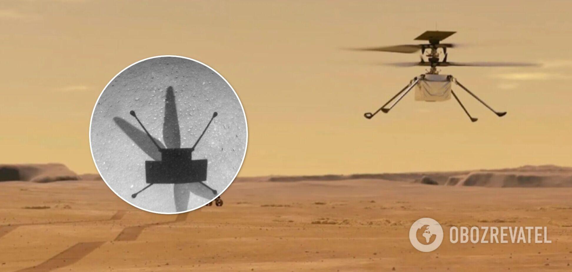 Вертоліт Ingenuity здійснив свій найдовший політ на Марсі. Відео