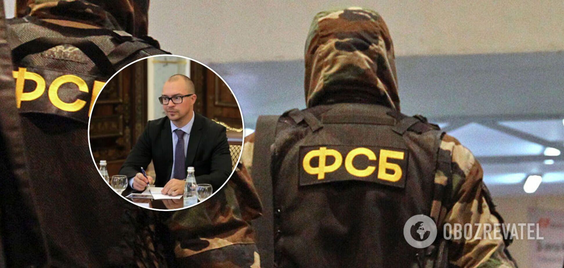 ФСБ в Петербурге задержала консула Эстонии 'за враждебные действия'