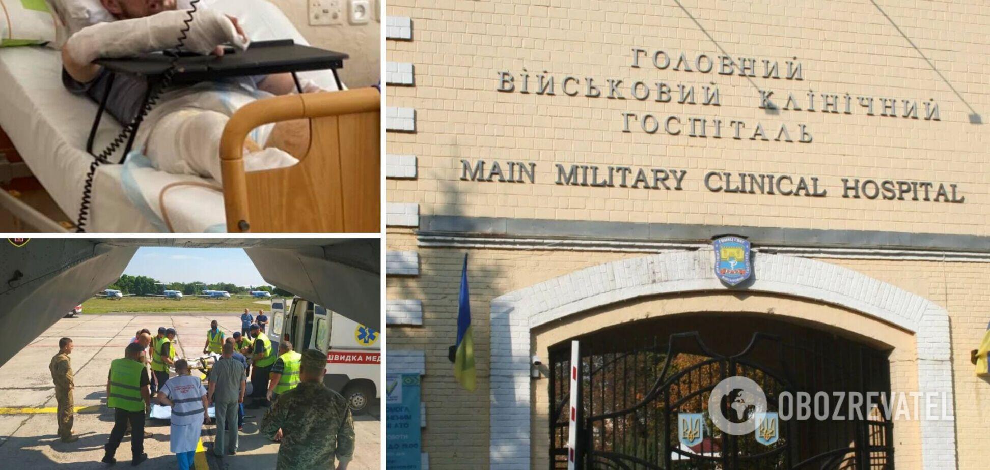 Тяжелораненому офицеру ВСУ понадобилась помощь: волонтер показала фото бойца