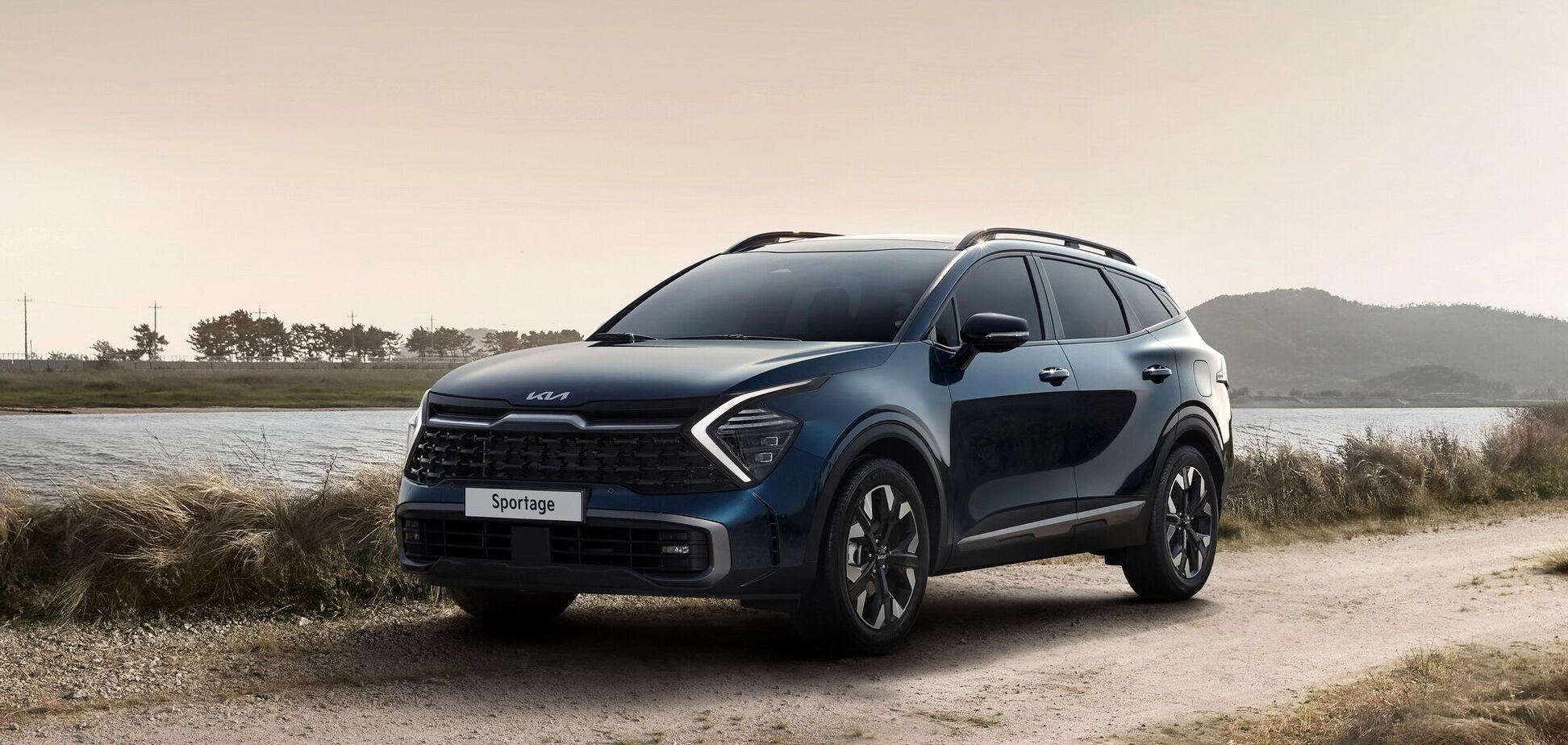Новый Kia Sportage представлен официально. Видео