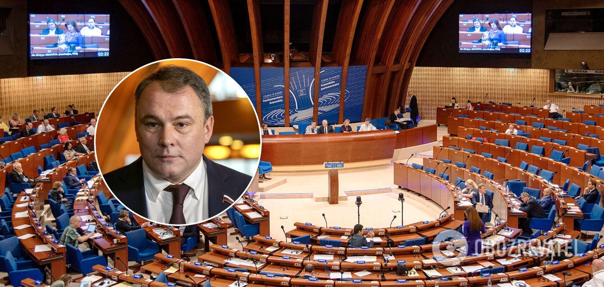 Российская делегация покинула заседание ПАСЕ из-за резолюции 'злобных соседей' Украины