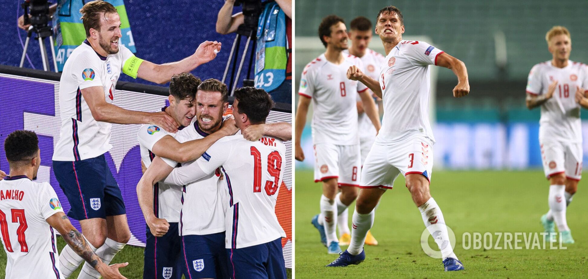 Англия Дания где смотреть матч Евро 2020