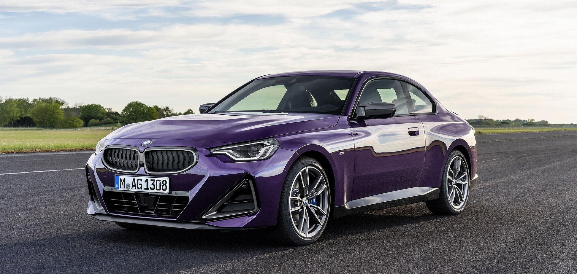 BMW презентувала нове покоління купе 2 Series