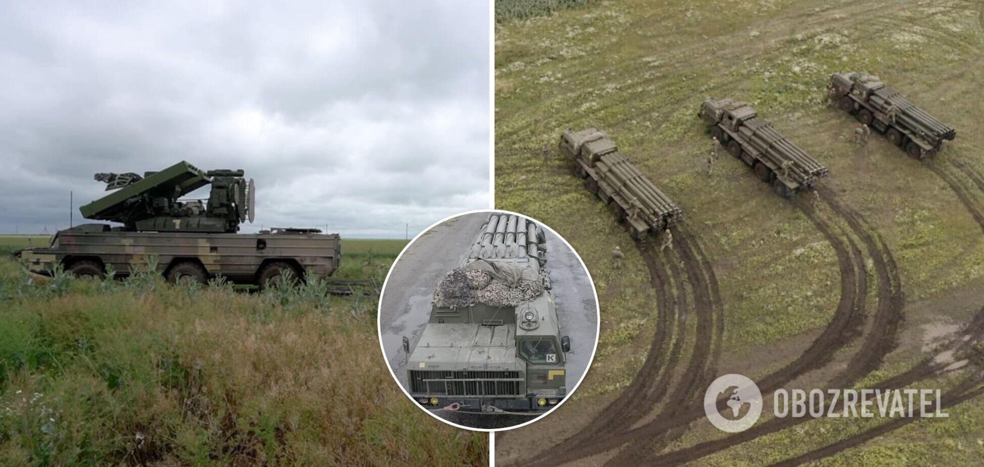 ВСУ 'Смерчами' отбили 'атаку противника' во время учений возле Крыма. Фото и видео