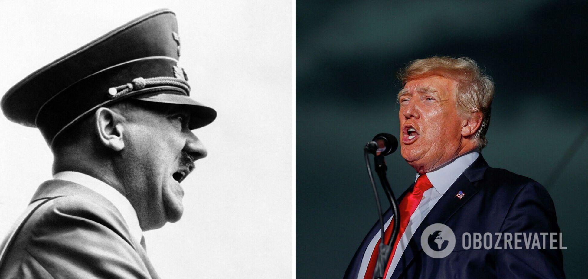 Трамп заявил, что Гитлер 'сделал много хорошего' - СМИ