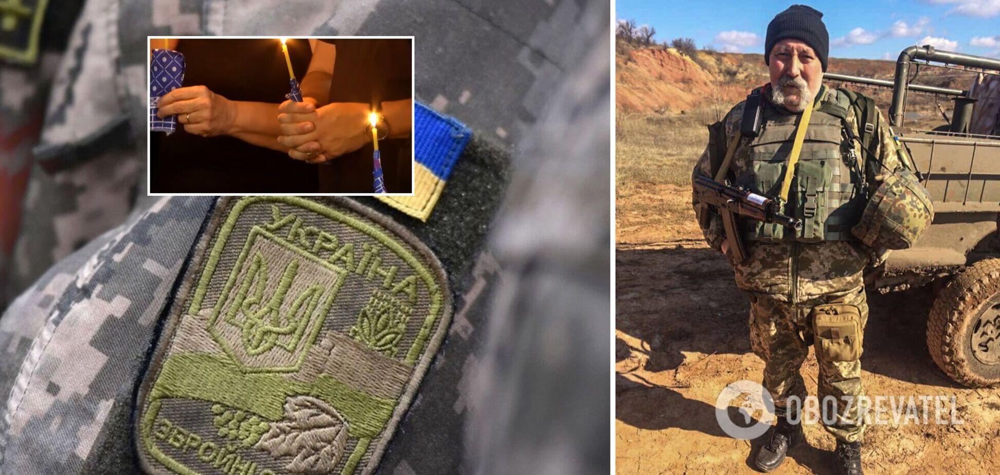 У Дніпрі провели в останню путь загиблого на Донбасі військового медика. Відео