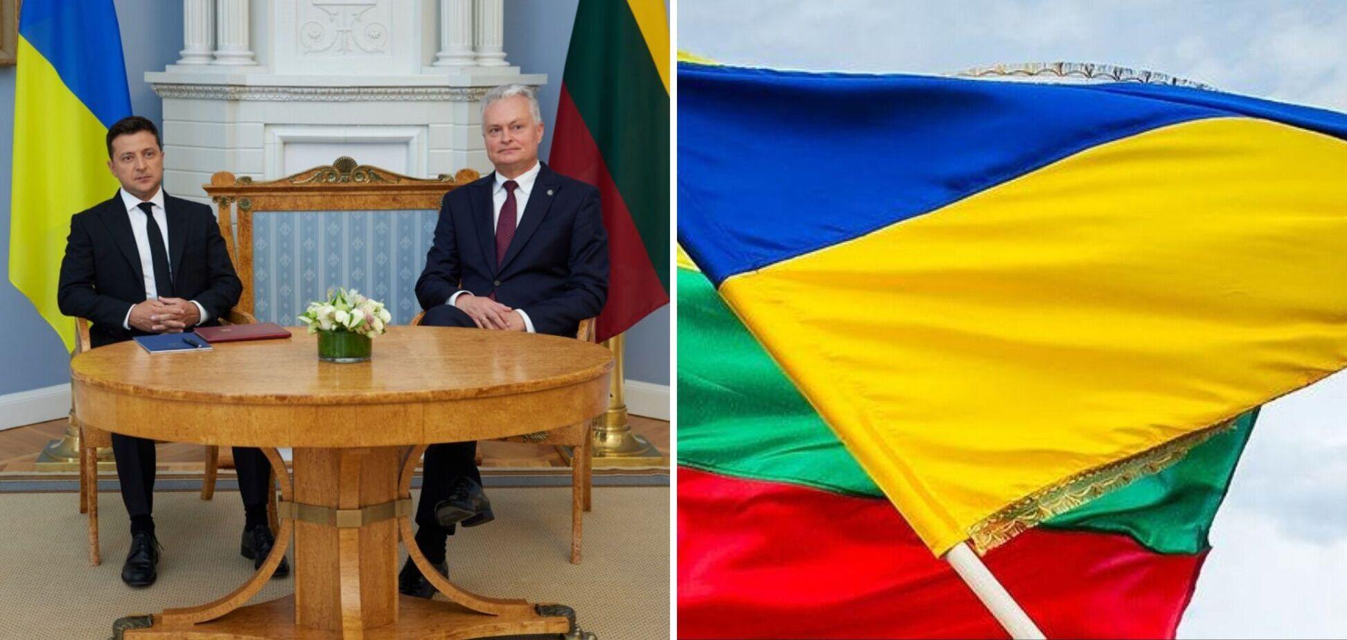 Зеленский провел переговоры с главой Литвы