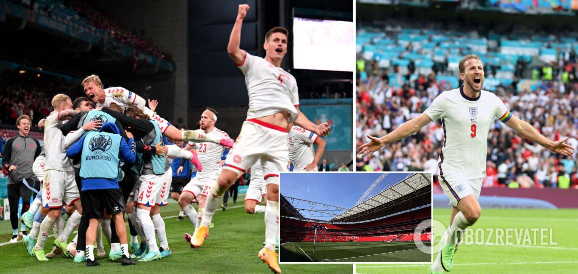 Англія і Данія зіграють у Лондоні