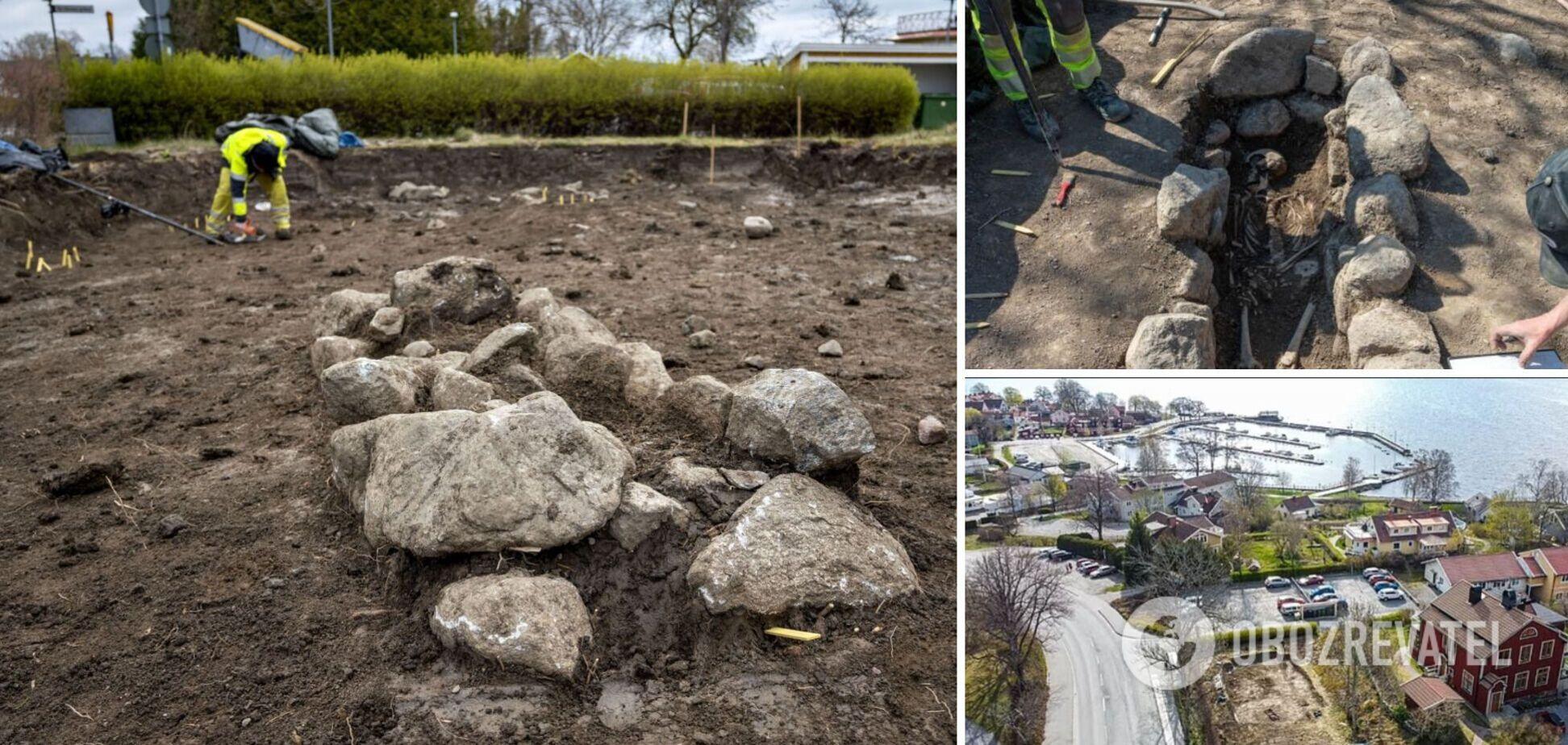 Гробницы викингов нашли в Швеции