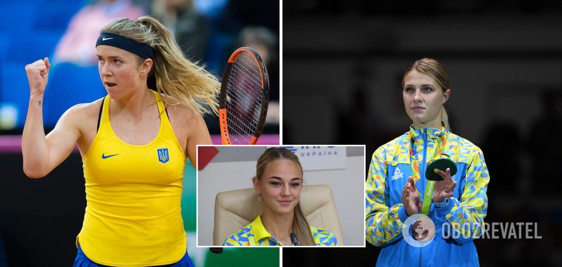 Элина Свитолина, Дарья Белодед и Ольга Харлан (слева направо) имеют неплохие шансы на медали