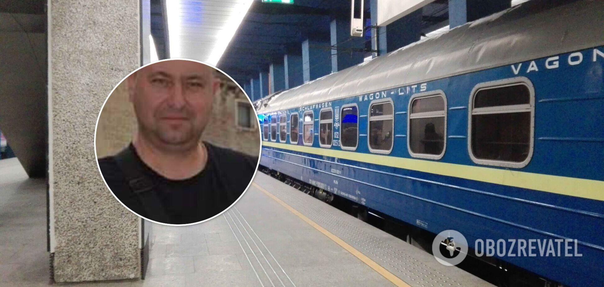 Чиновник СБУ влаштував дебош у поїзді та чинив опір поліції. Відео