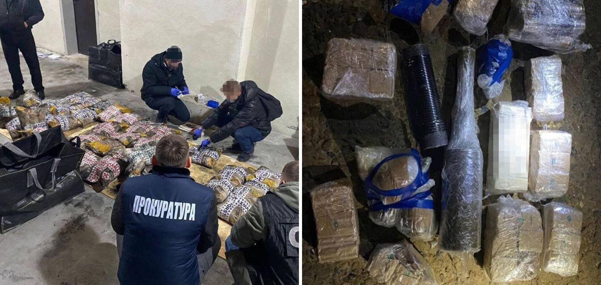 Кокаин в бананах и под видом партии риса: резонансные разоблачения и задержания СБУ в июне