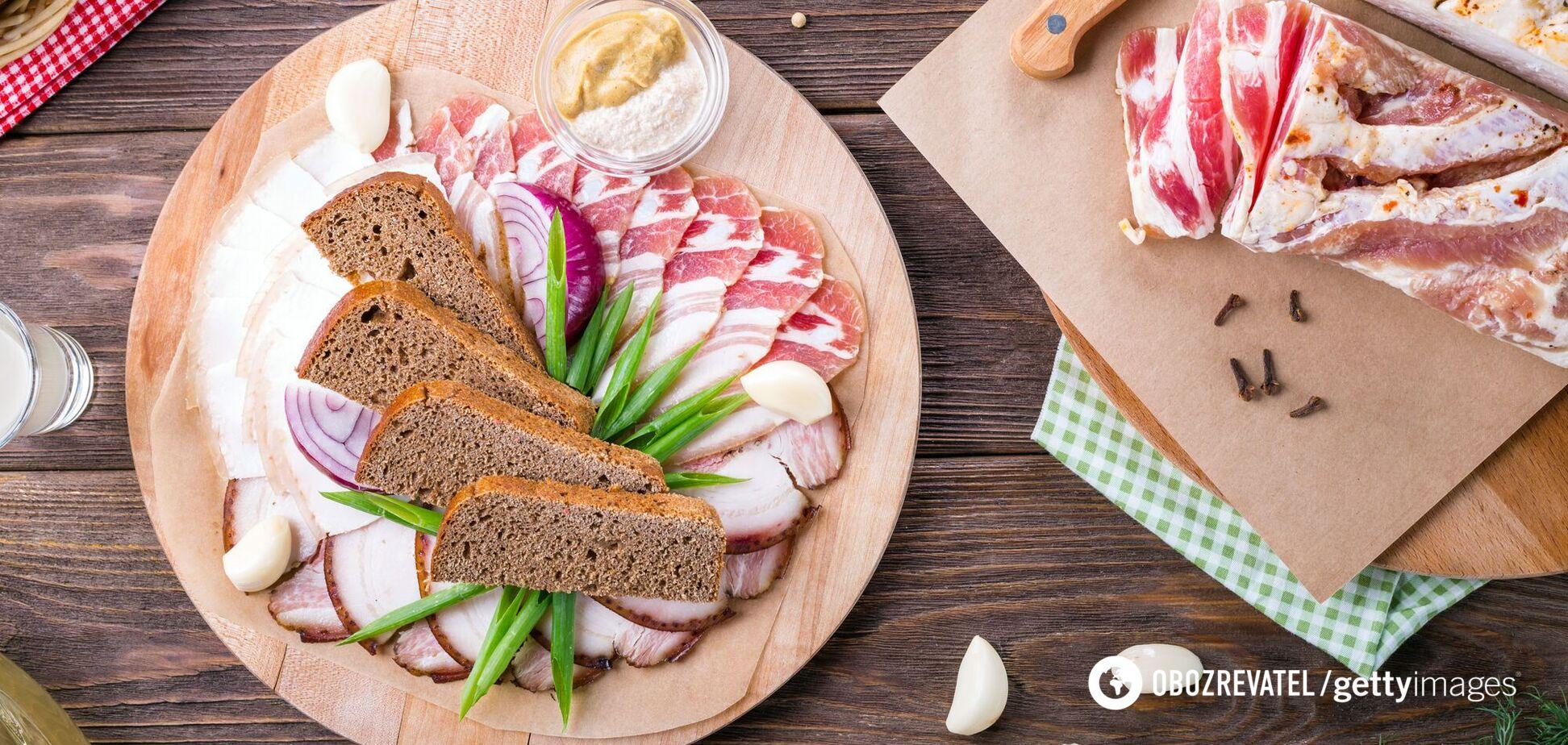 Як вибрати смачне і натуральне сало