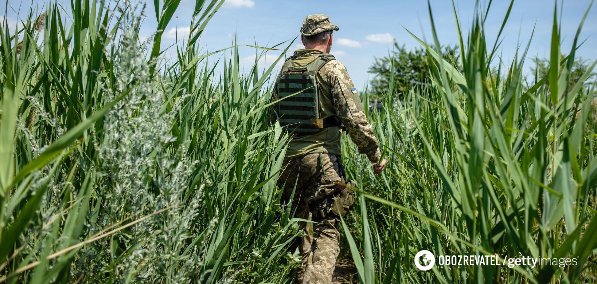 Российские наемники на Донбассе ранили бойца ВСУ