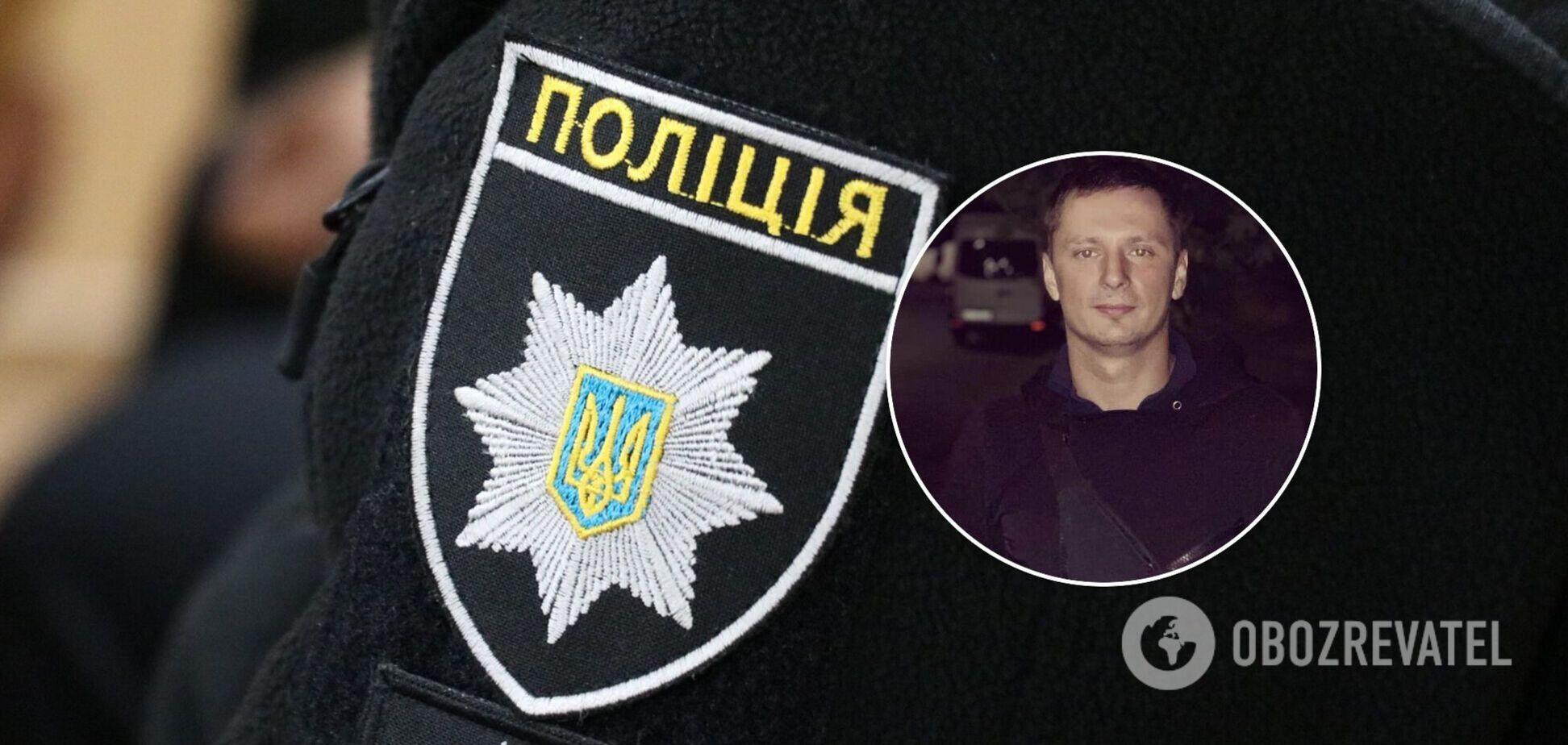 У Києві поранили патрульного