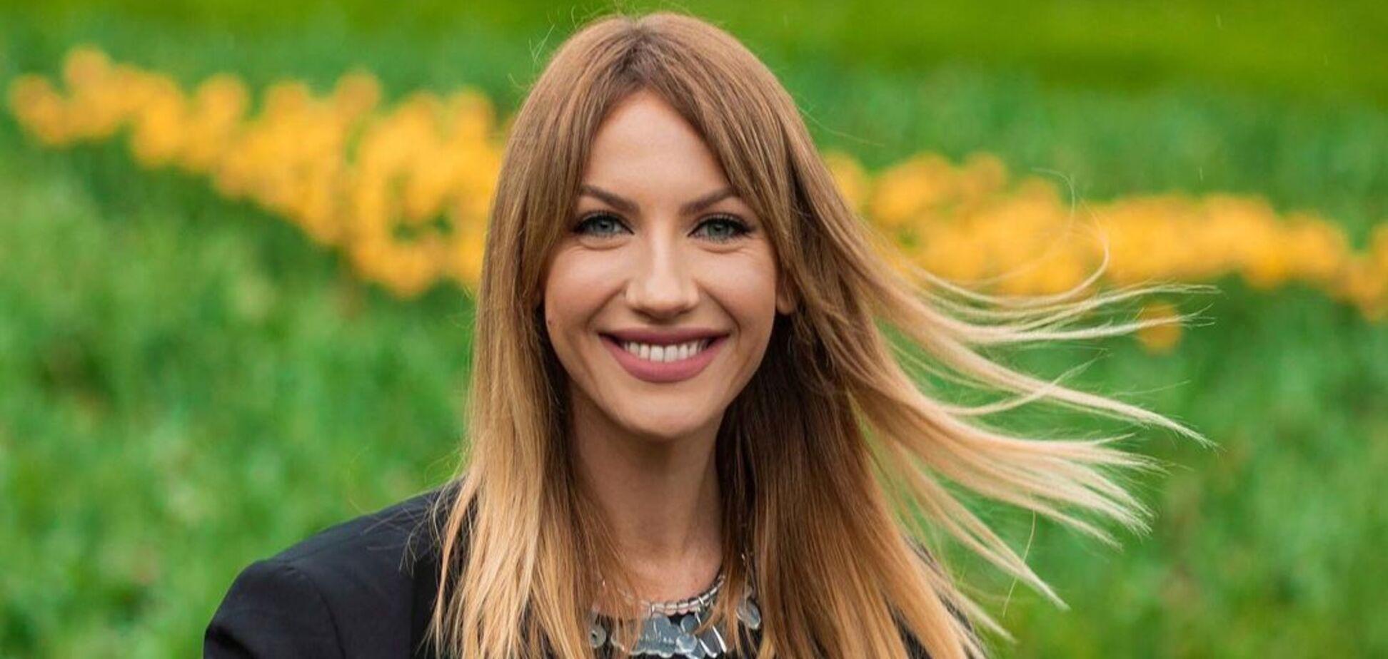 Українська телеведуча Леся Нікітюк показала стильні зачіски
